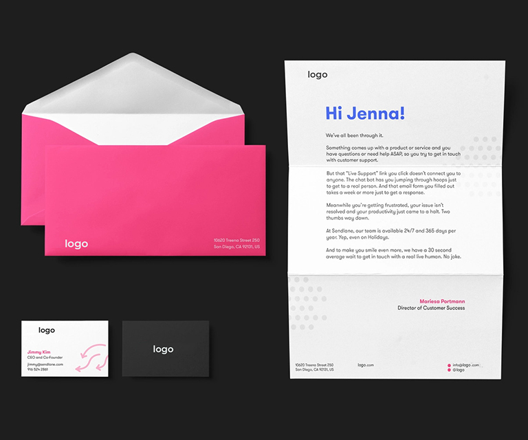 Interactive Email Template